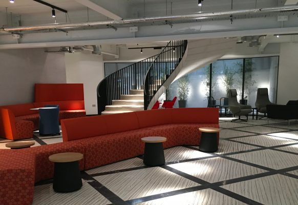 12 GF Reception Seating areas and stiarcase-min
